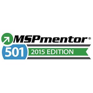MSPMentor501 Award 2015